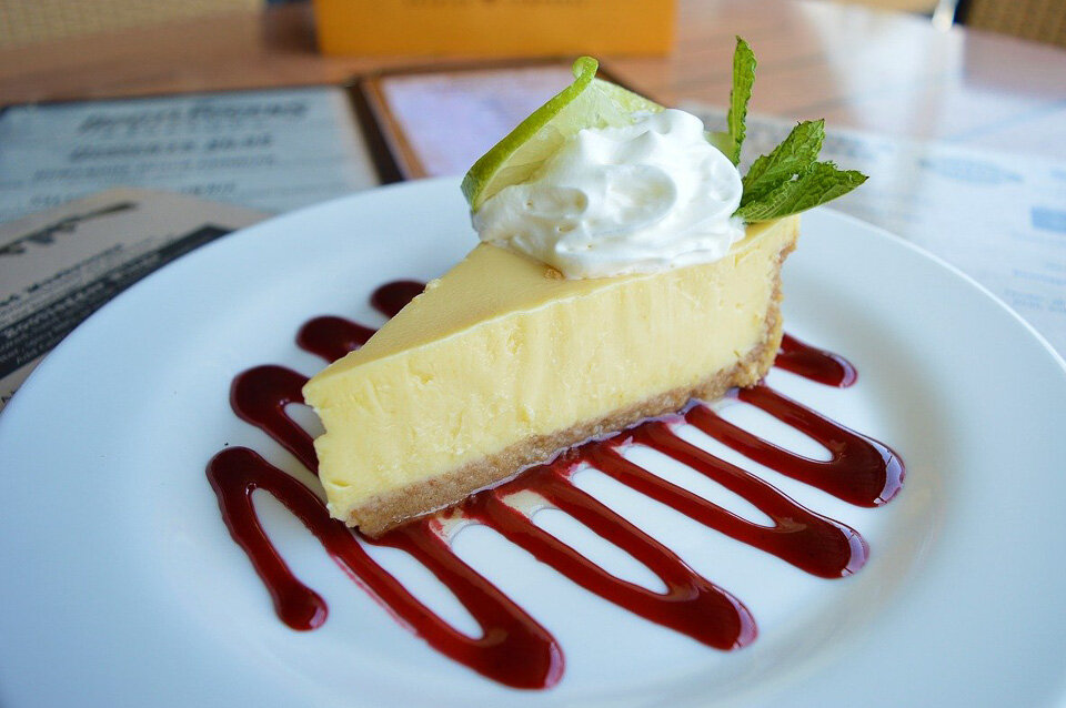 Tart and tasty Key Lime pie in Key West