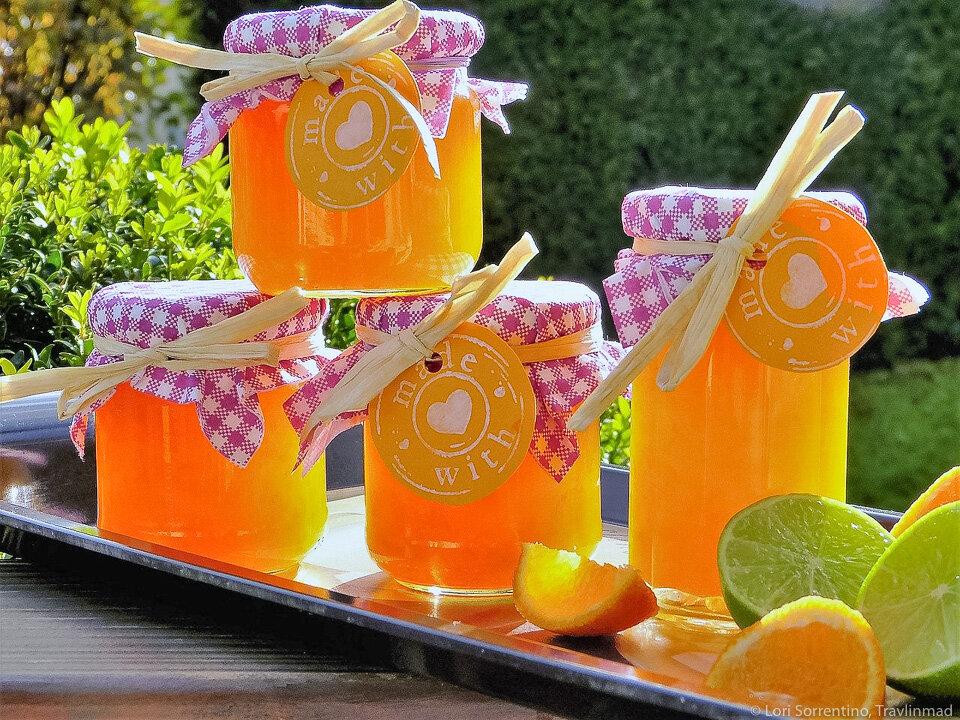 Kumquat marmalade is a perfect blend of tart and sweet