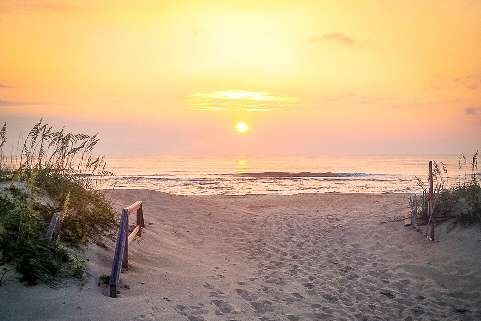 The beautiful dunes of North Carolina's Outer Banks