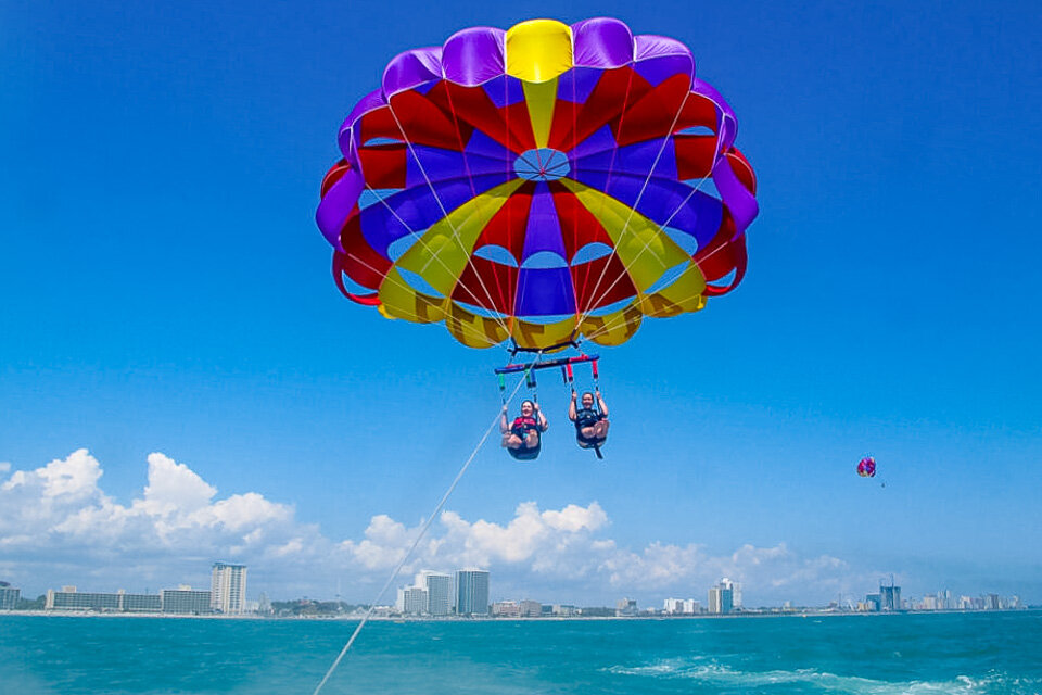 Perfect for a parasailing adventure!