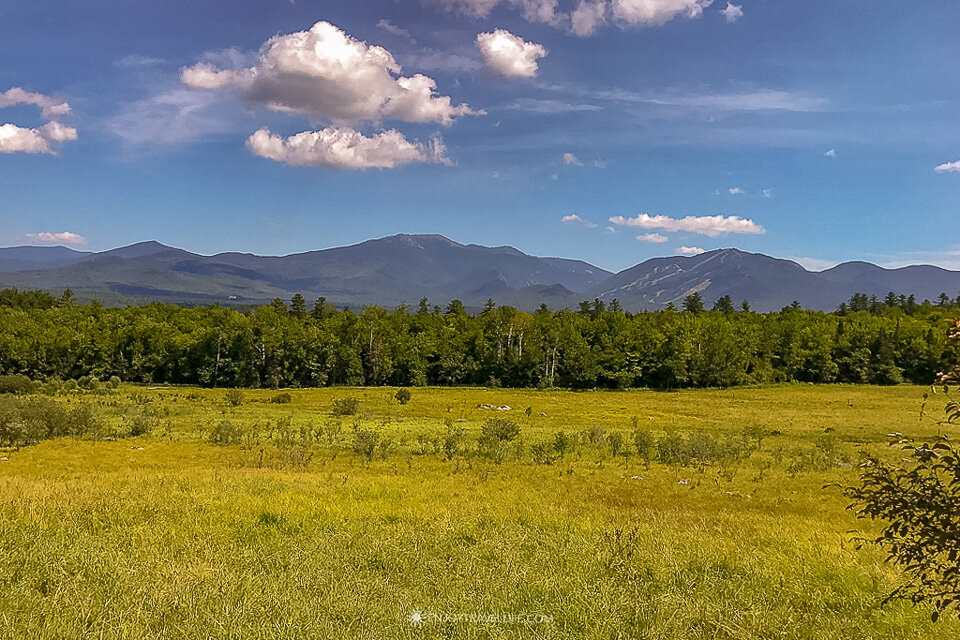 The White mountains of New Hampshire