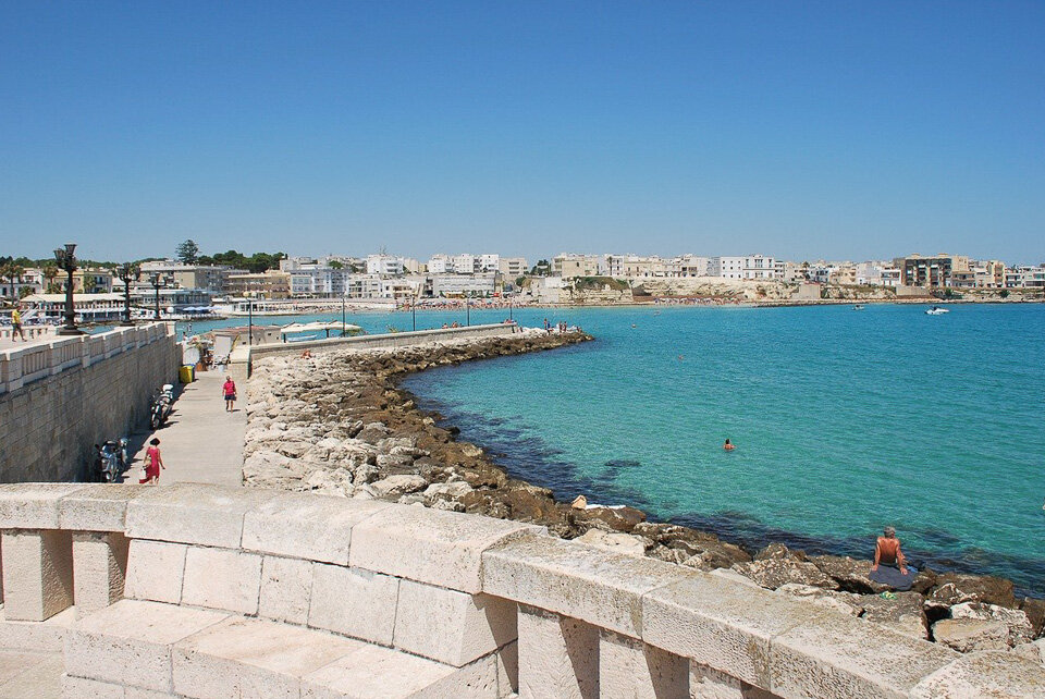 Sun-drenched and azure seas, just two reasons Otranto in Puglia is such a hidden gem.