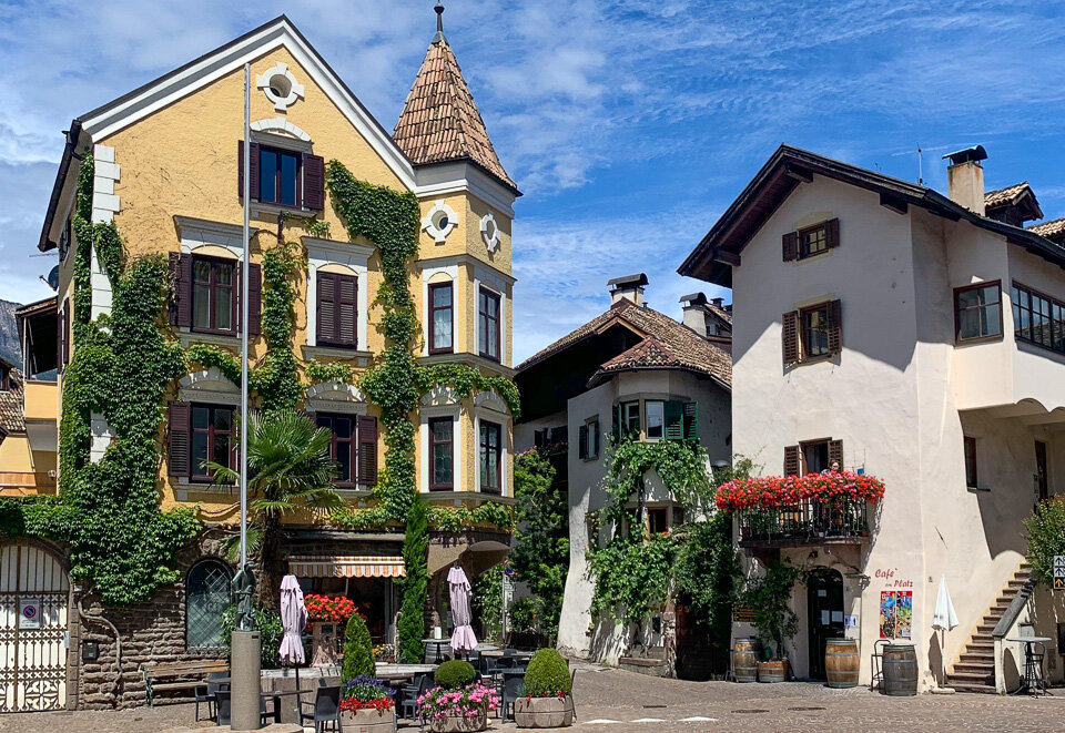 Colorful Cornaiano is another of the hidden gems in northern Italy