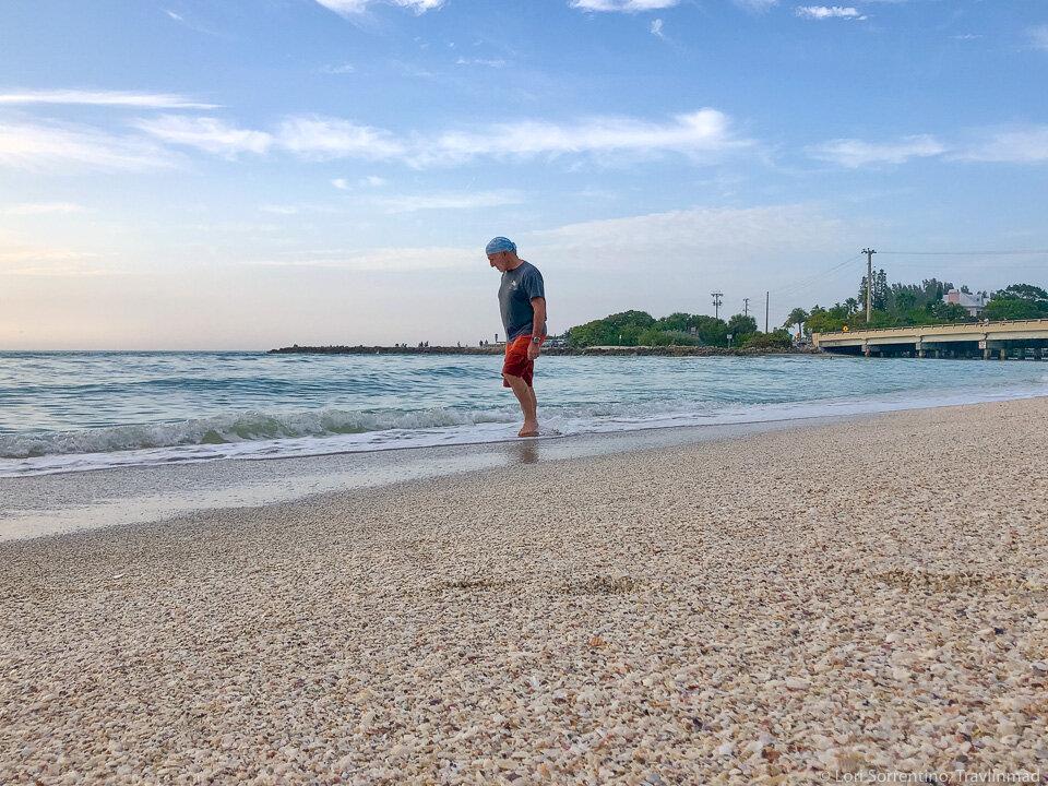 Blind Pass beach, Sanibel