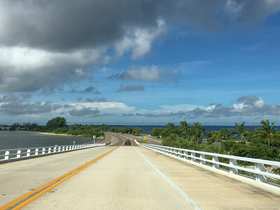 Arriving on the Sanibel Causeway