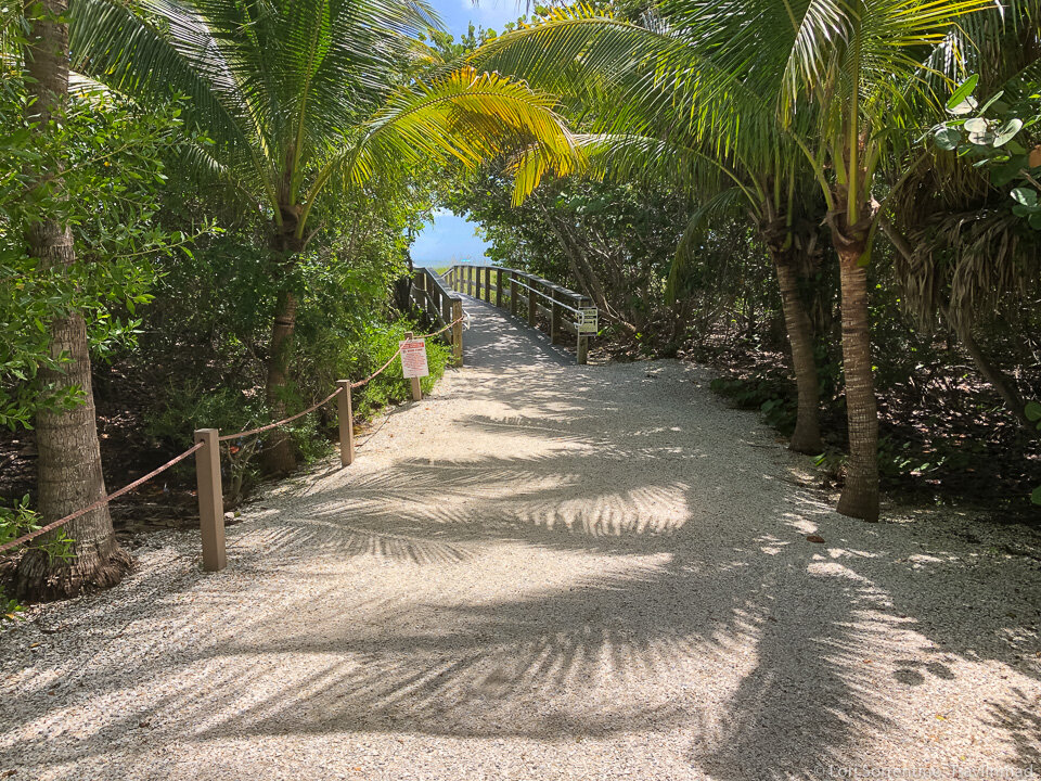 Sanibel beaches are perfectly natural