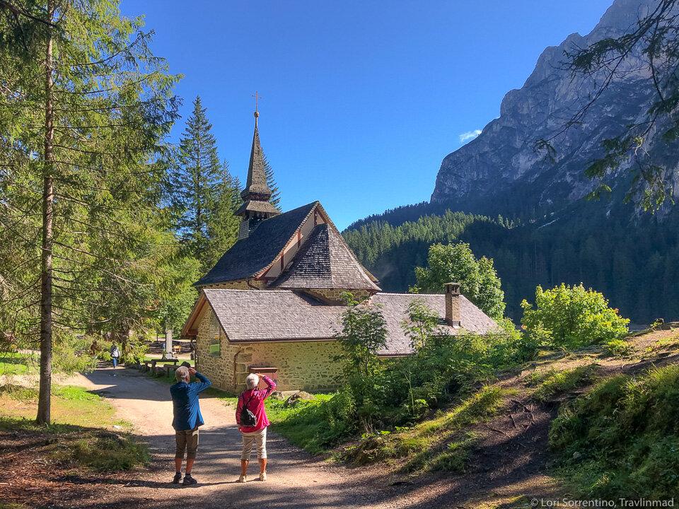 The Chapel of Lake Braies (Cappella Lago di Braies)