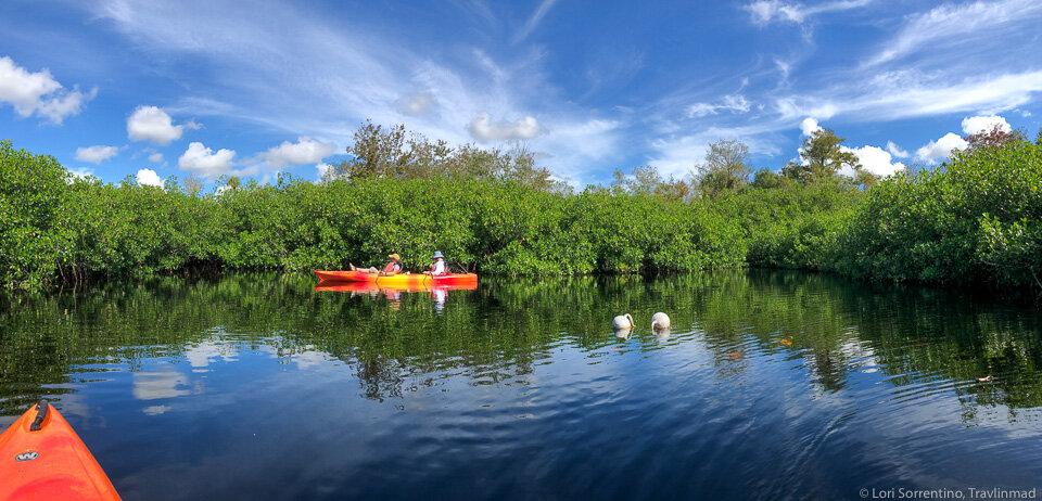 Kayaking on Turner River in Big Cypress Preserve