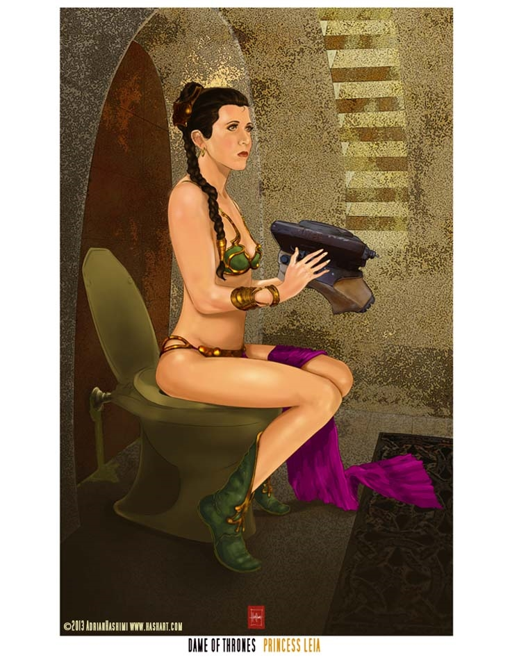Dame of Thrones-Leia