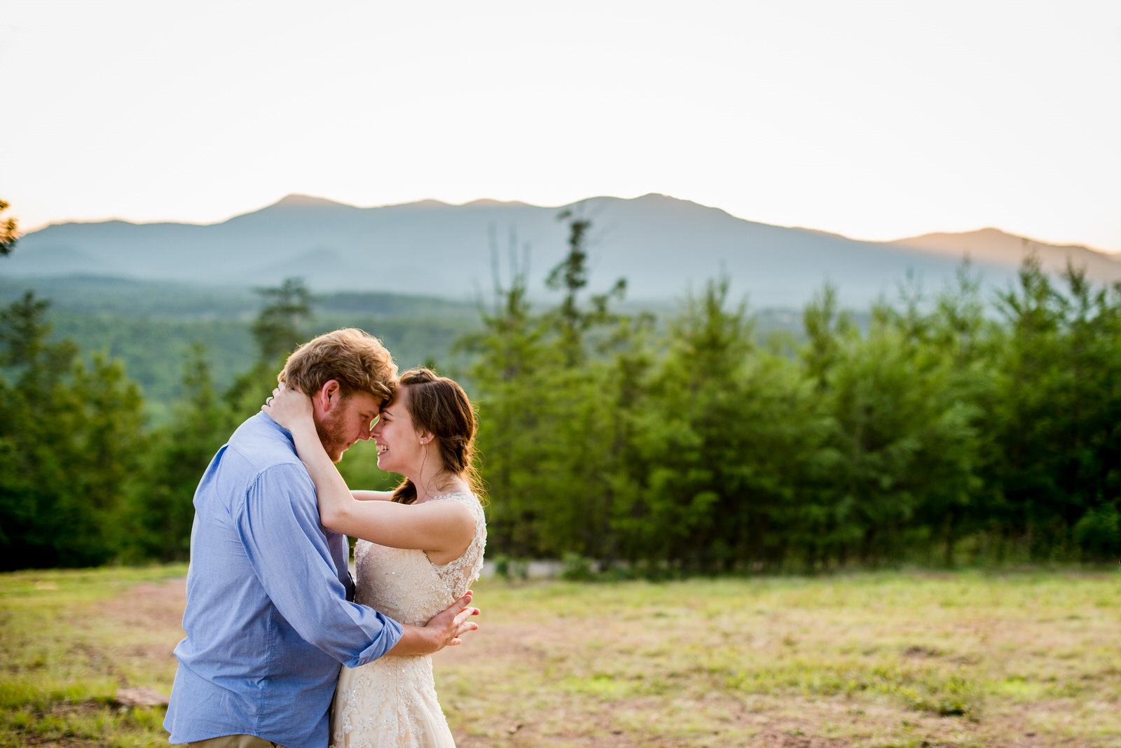Waynesville-Intimate-Wedding