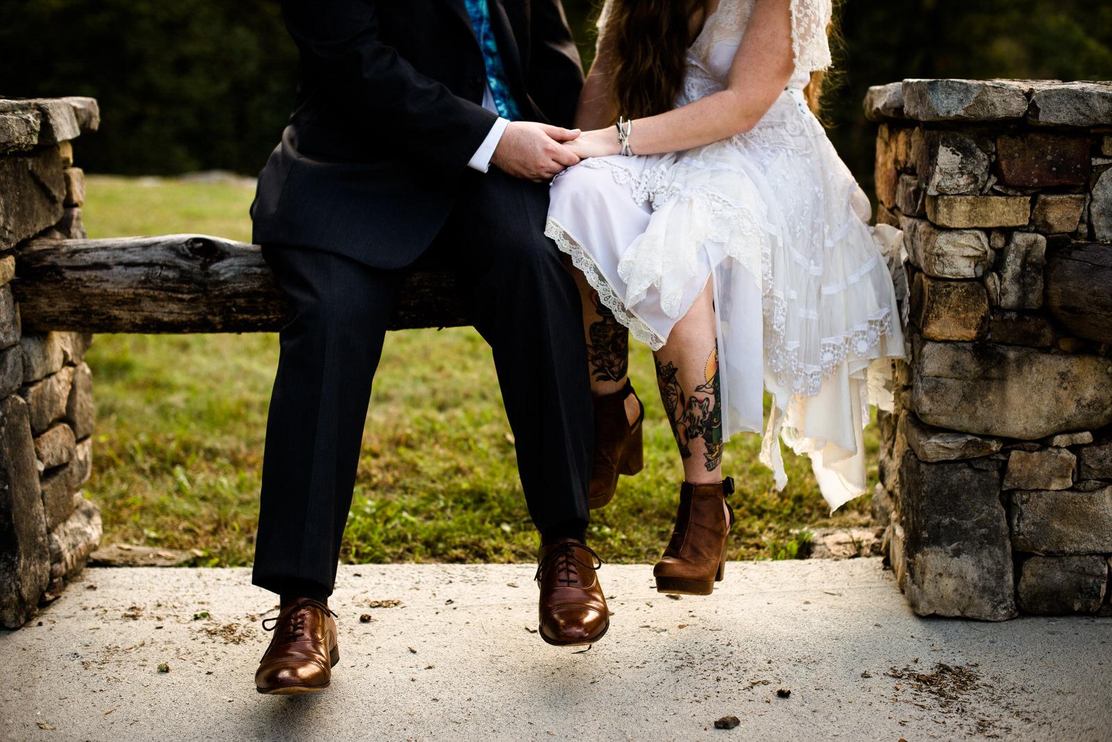 adventurous and intimate backyard wedding - GLENVILLE, NC