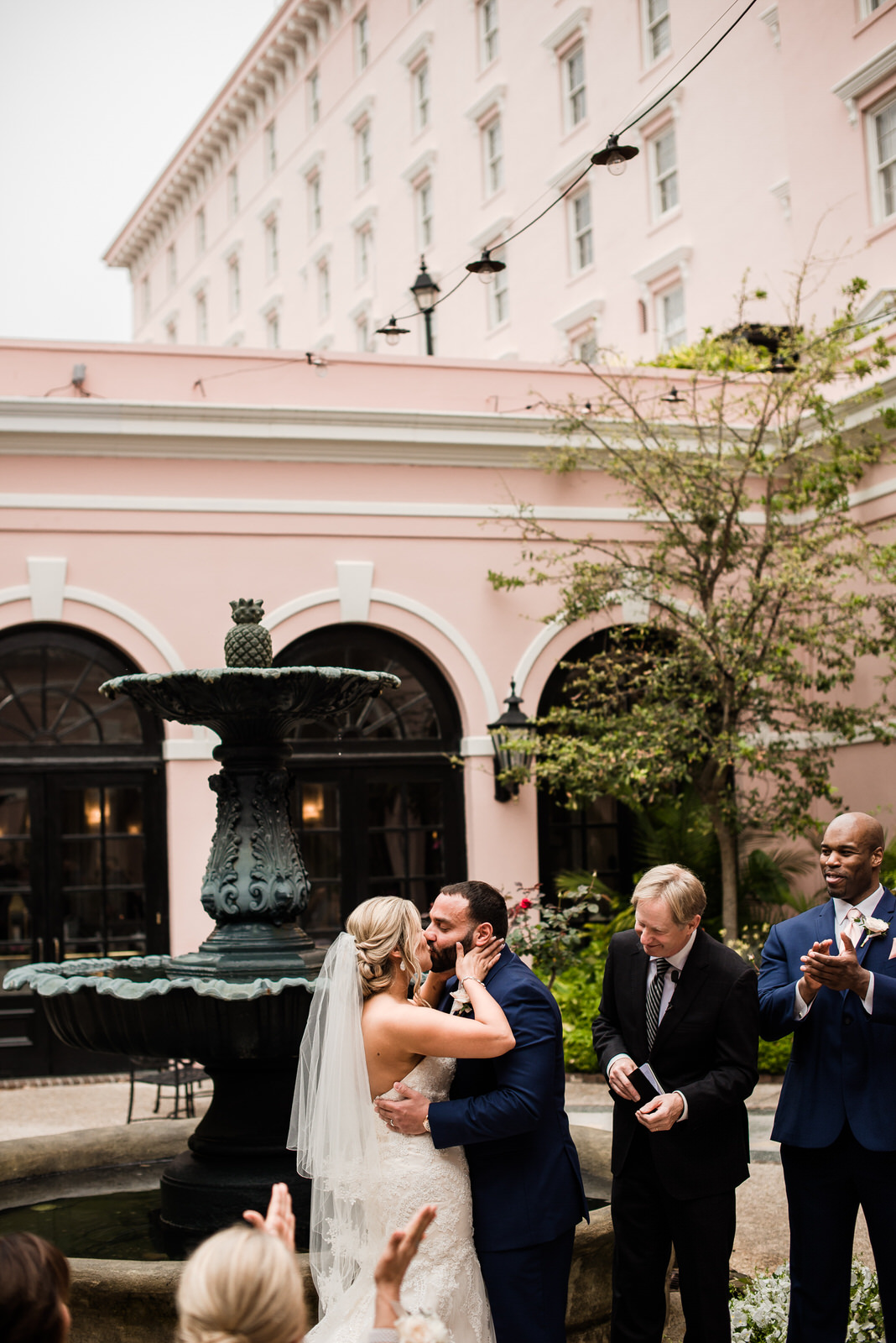 a romantic garden wedding - MILLS HOUSE HOTEL | CHARLESTON, SC