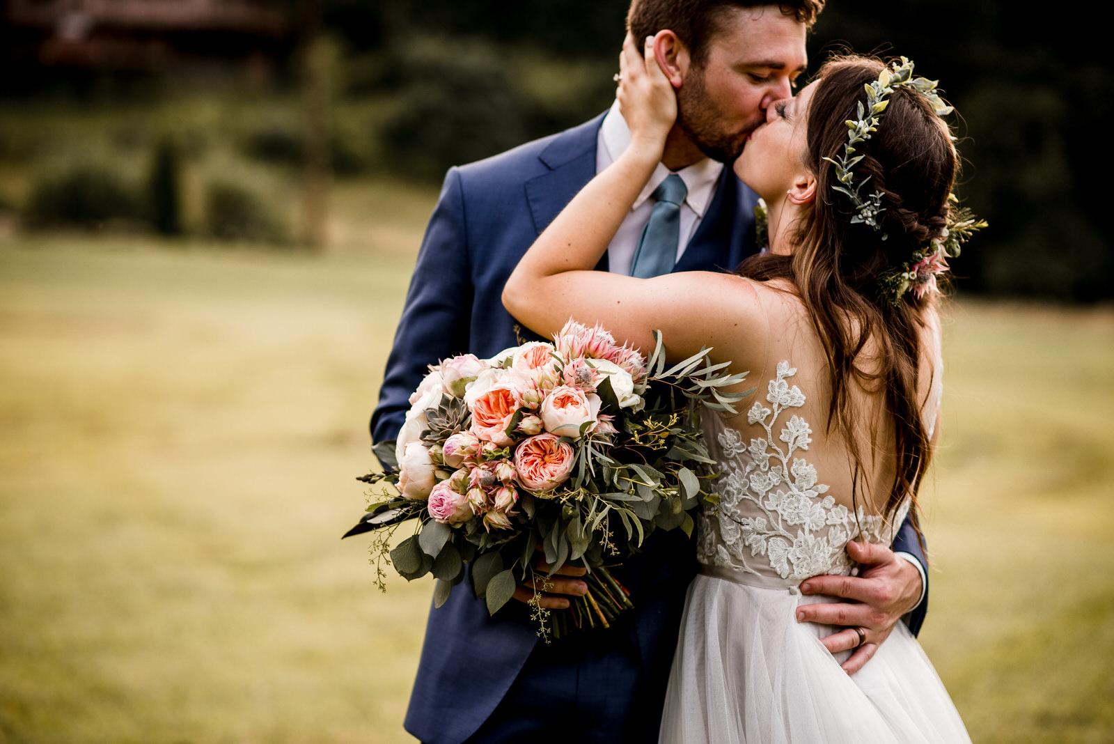dreamy midsummer wedding - FIELDS OF BLACKBERRY COVE | WEAVERVILLE NC