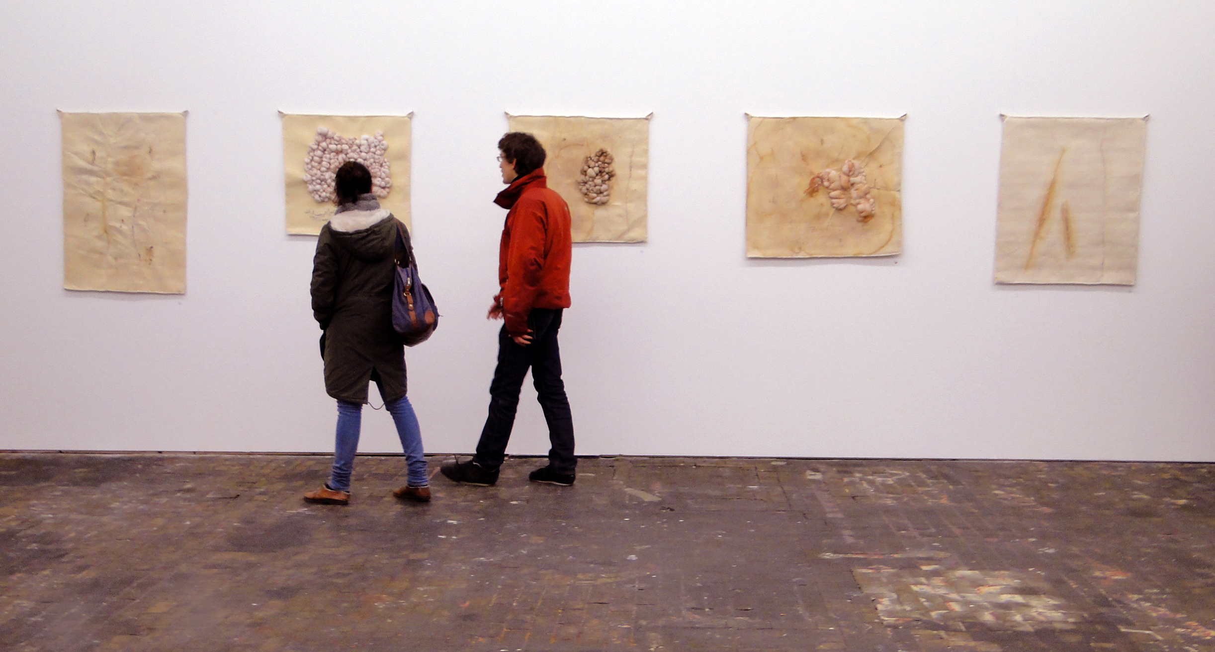 """Installation view of"""" There Is Nothing Underneath Me"""""""