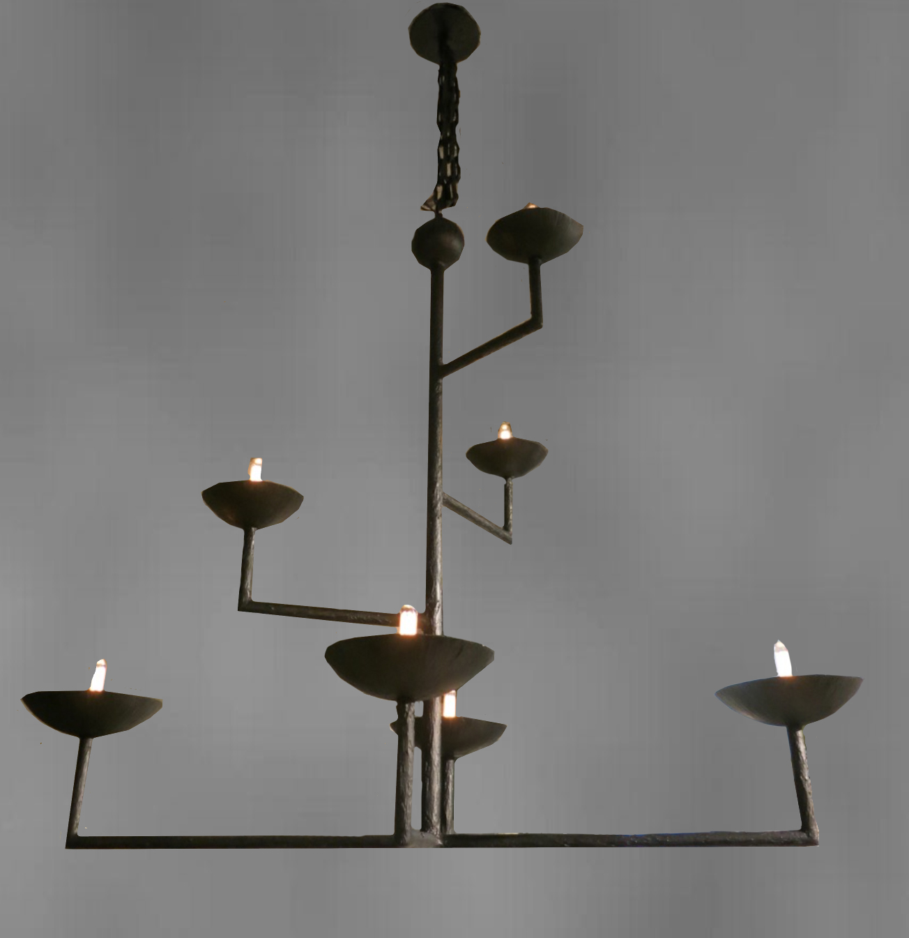 competitive price 34984 200ea Bronze Plaster Chandelier — A P S A R A I N T E R I O R