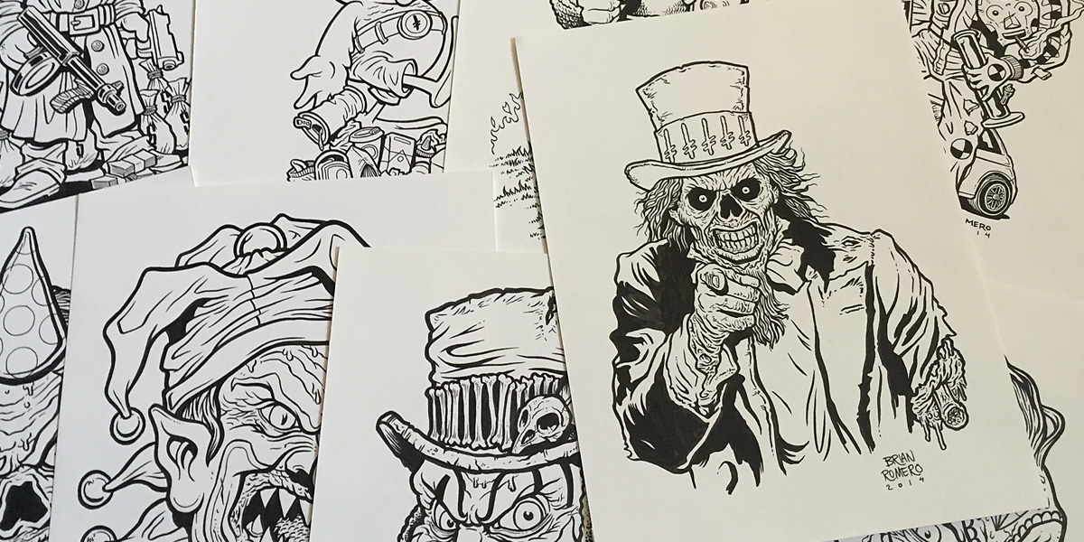 DEATHWISH: Original Ink Art