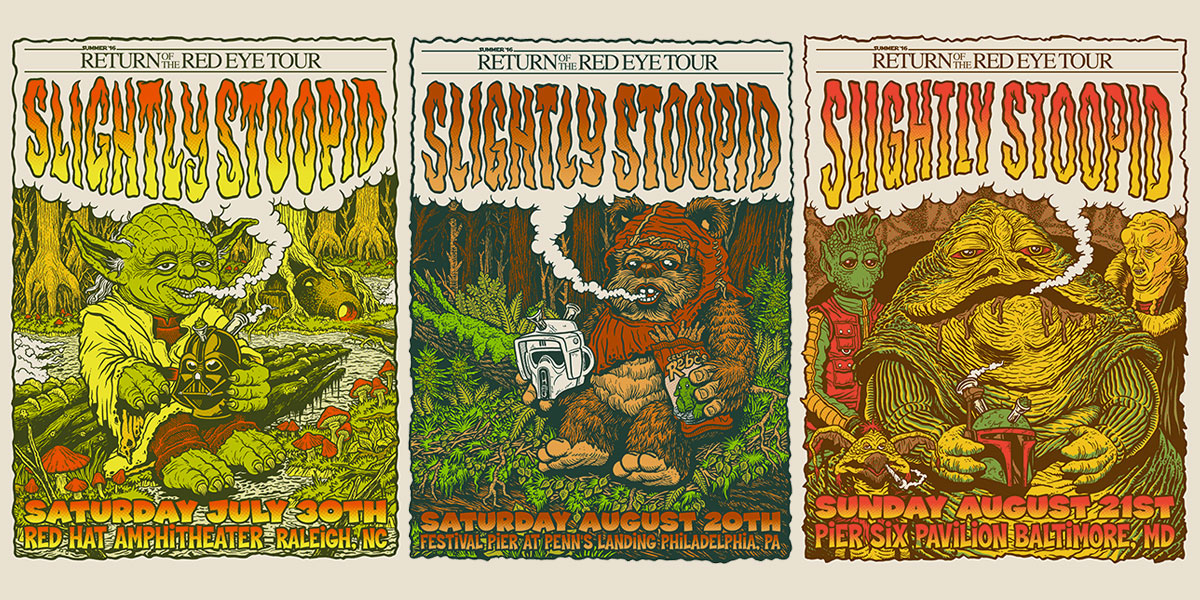 SLIGHTLY STOOPID: Return of the Red Eye Tour