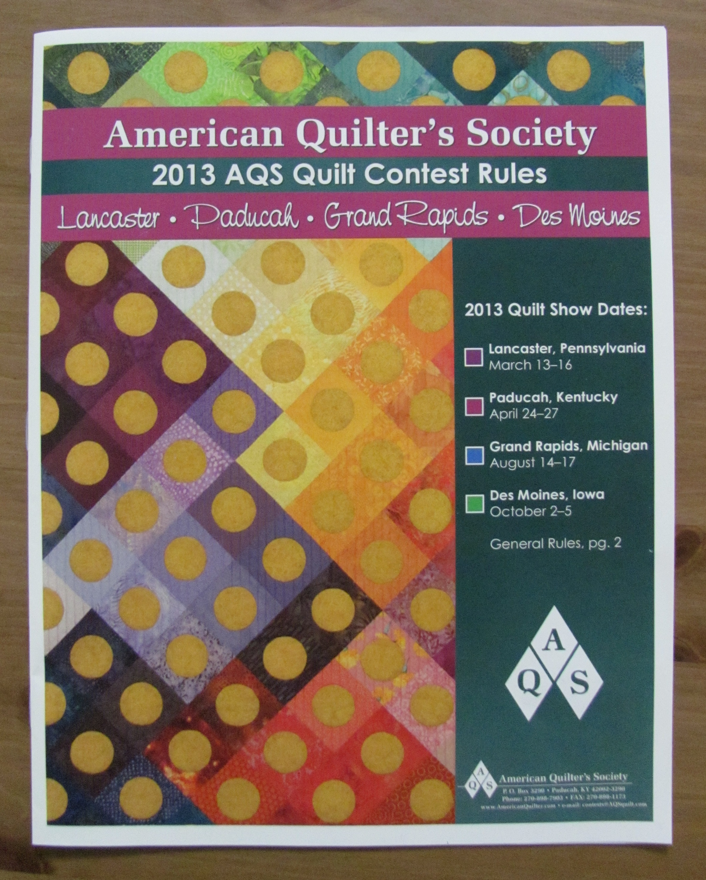 aqs rules cover