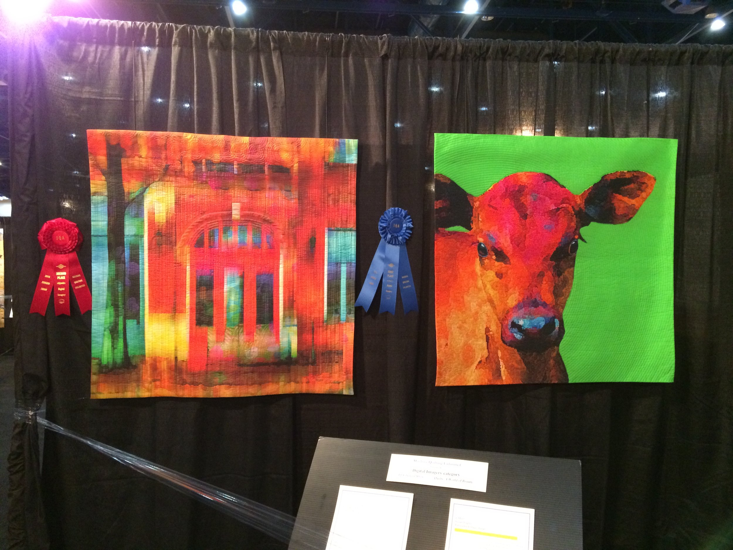 Paint the Town Red  by Diane Rusin Doran and    GMO?  by Suzan Engler