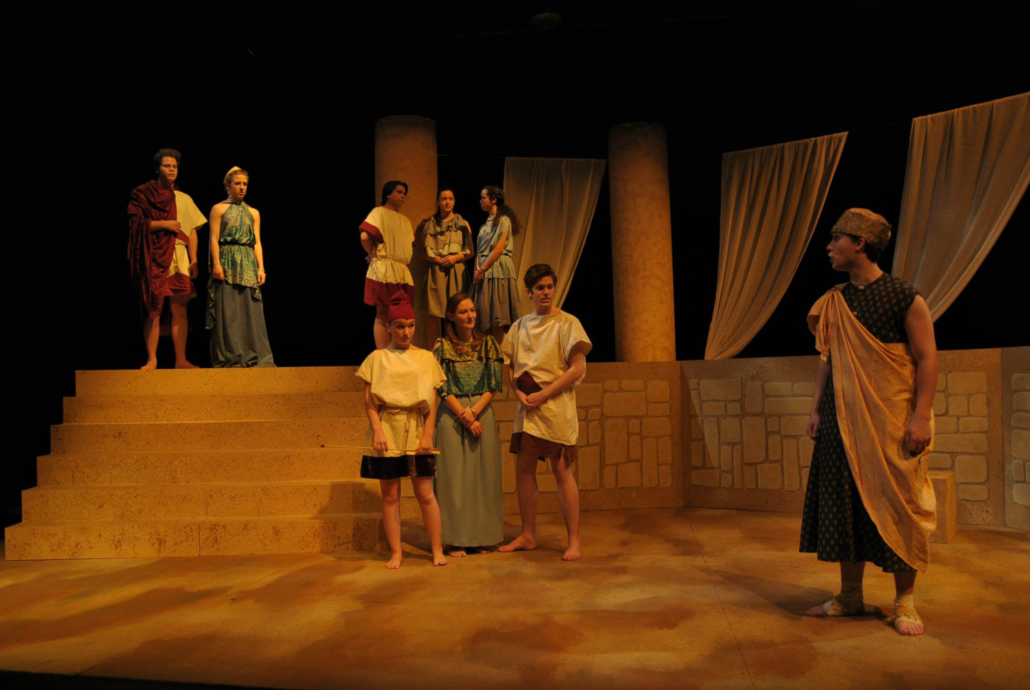Cast of  Dido, Queen of Carthage
