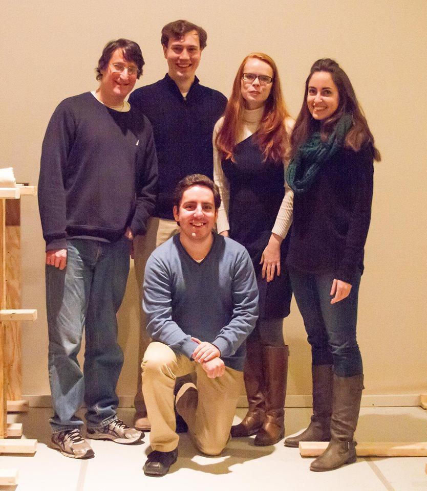 Tom Block, David Johnson, Ruthie Rado, Rebecca Wahls, and Bradyn Heck. PC: Kristy SImmons