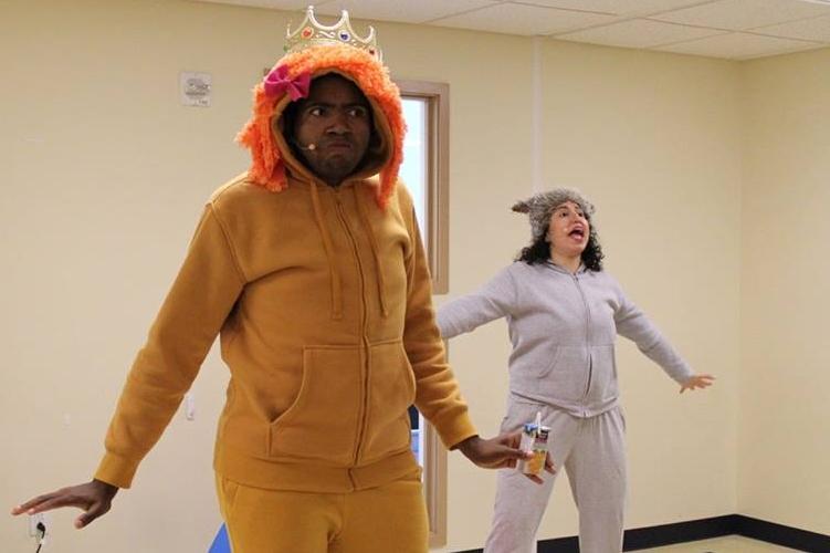 Justin Sumblin as Jeffrey and Jackie Salvador as Sandra