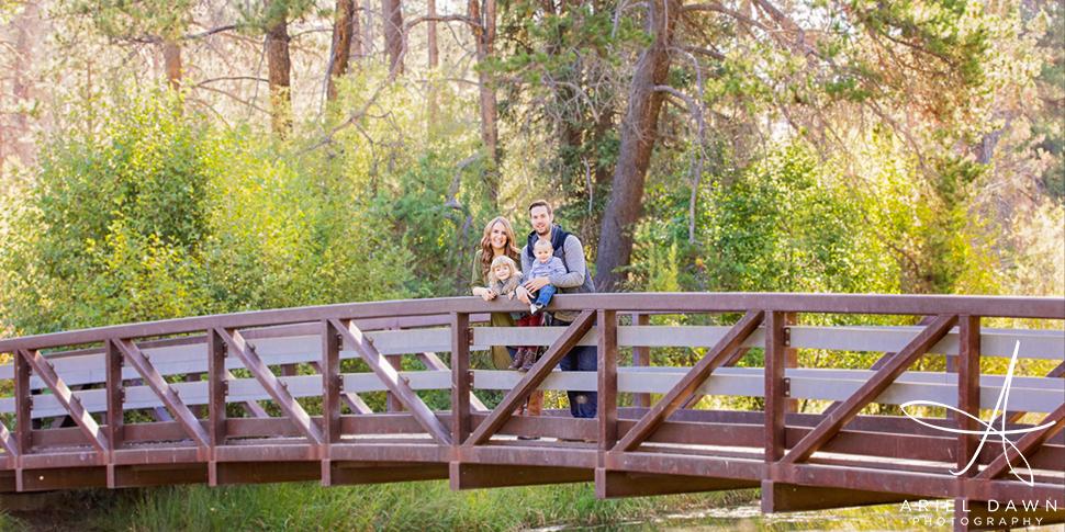 Shevlin Park Bend Oregon Family Photographer
