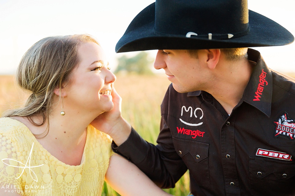 Real Montana Engagement Session
