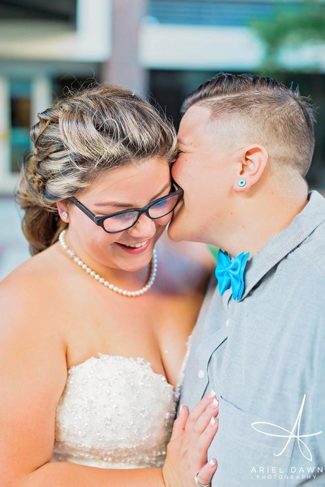 Brides wedding | Great Falls, Montana | Ariel Dawn Photography | www.arieldawnphotography.com | Wedding Photographer