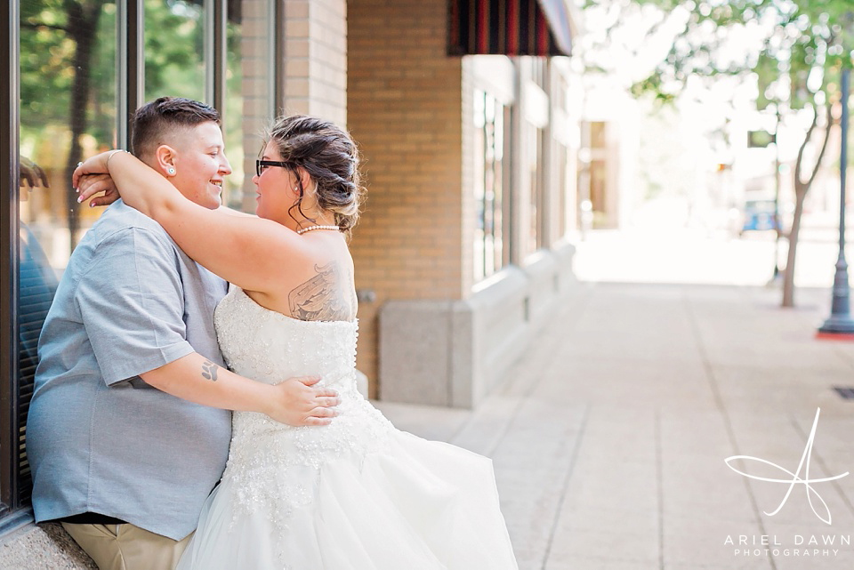 Same Sex Wedding Photographer | Great Falls, Montana | Ariel Dawn Photography | www.arieldawnphotography.com | Wedding Photographer