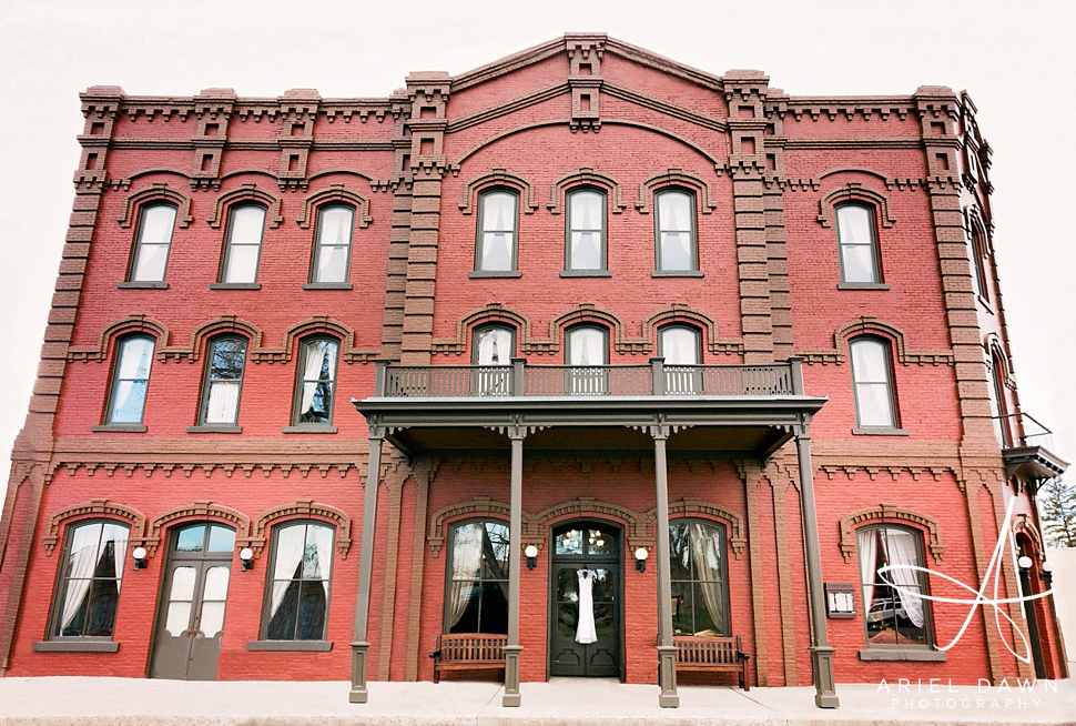The beautiful and amazing Grand Union Hotel located in Fort Benton, Montana.