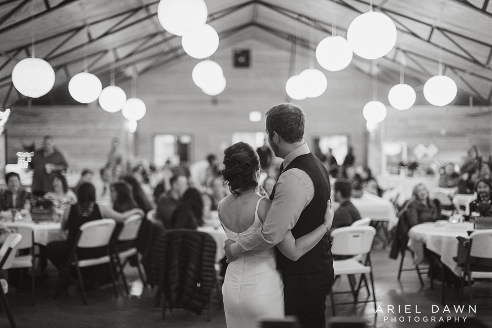 Macee and Matt enjoyed their first dance to a Lion King song. It was perfect!