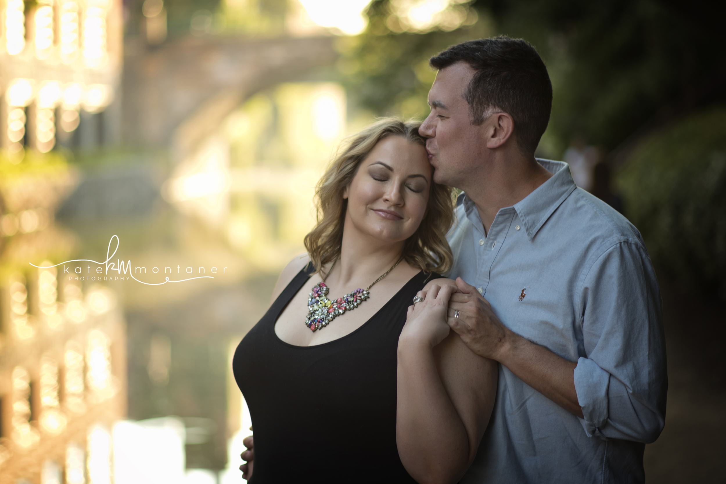 Georgetown Sunset couple