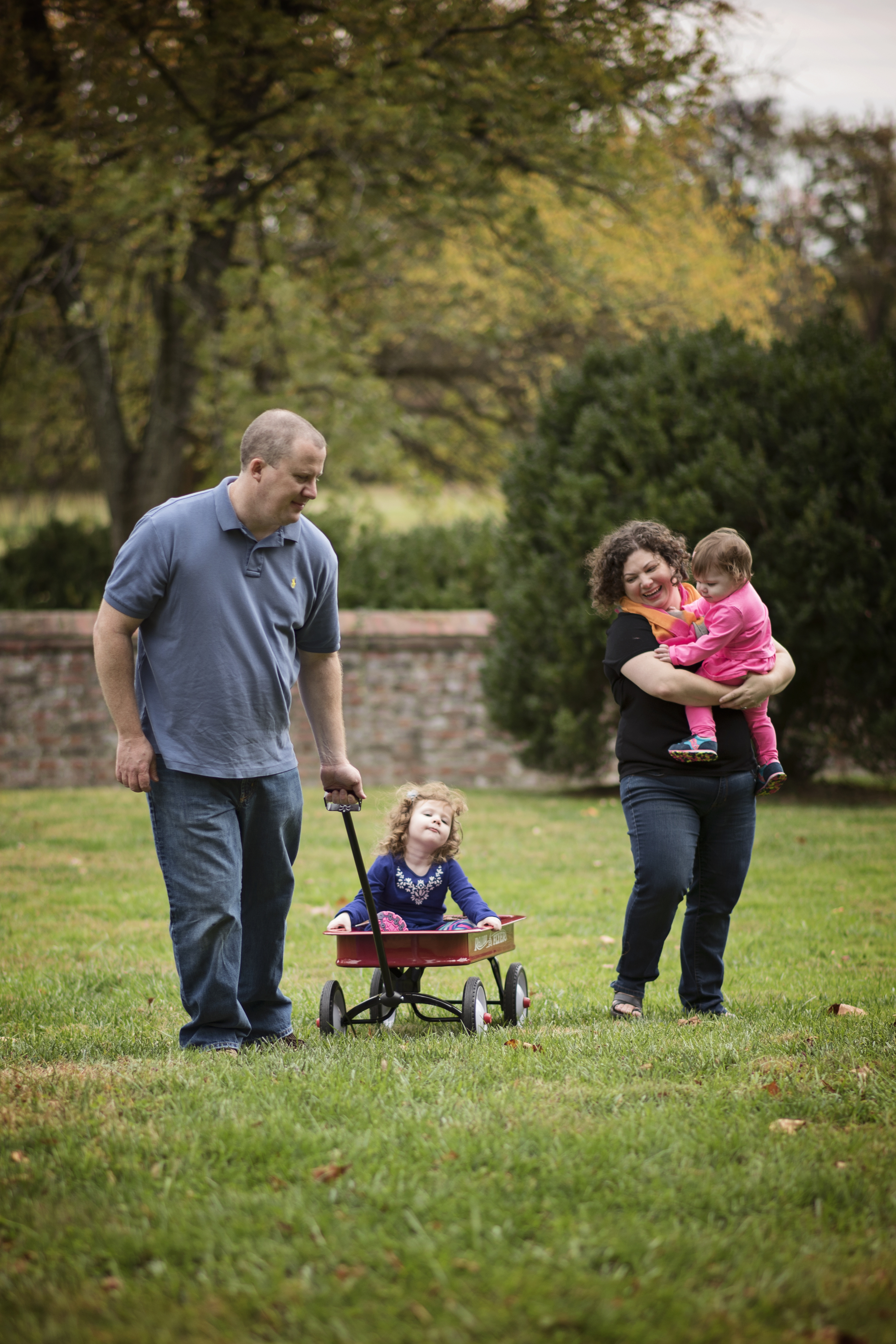 Fall Family Stroll Kate Montaner Photography