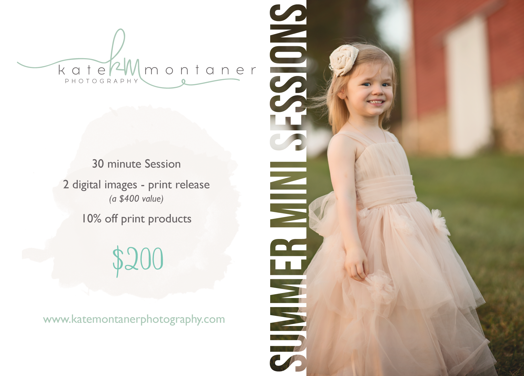 girl-with-blush-tuile-dress-standing-in-field-by-barn-Summer-Portrait-Kate-Montaner-Photography-childrens-Portaiture