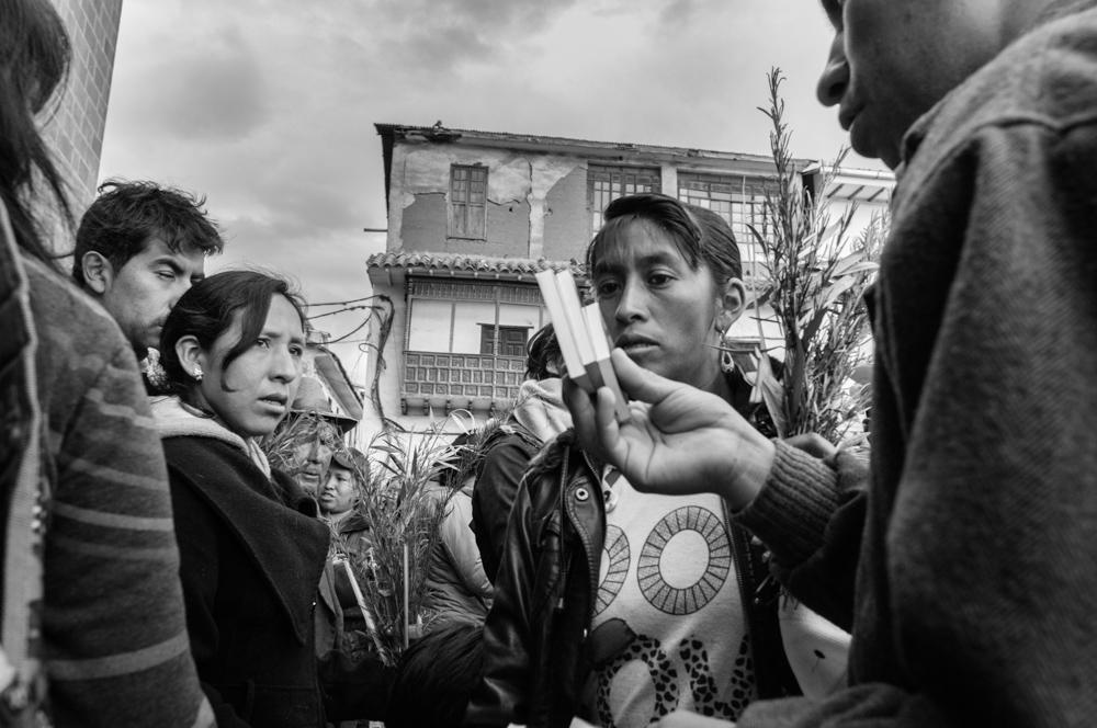 Selling religion - Cusco