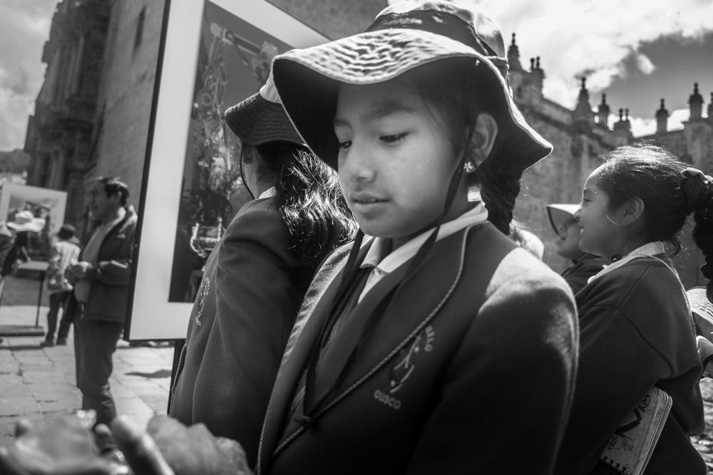 School girl - Cusco