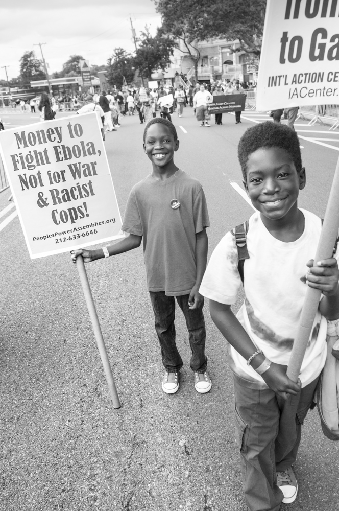 Bothers marching