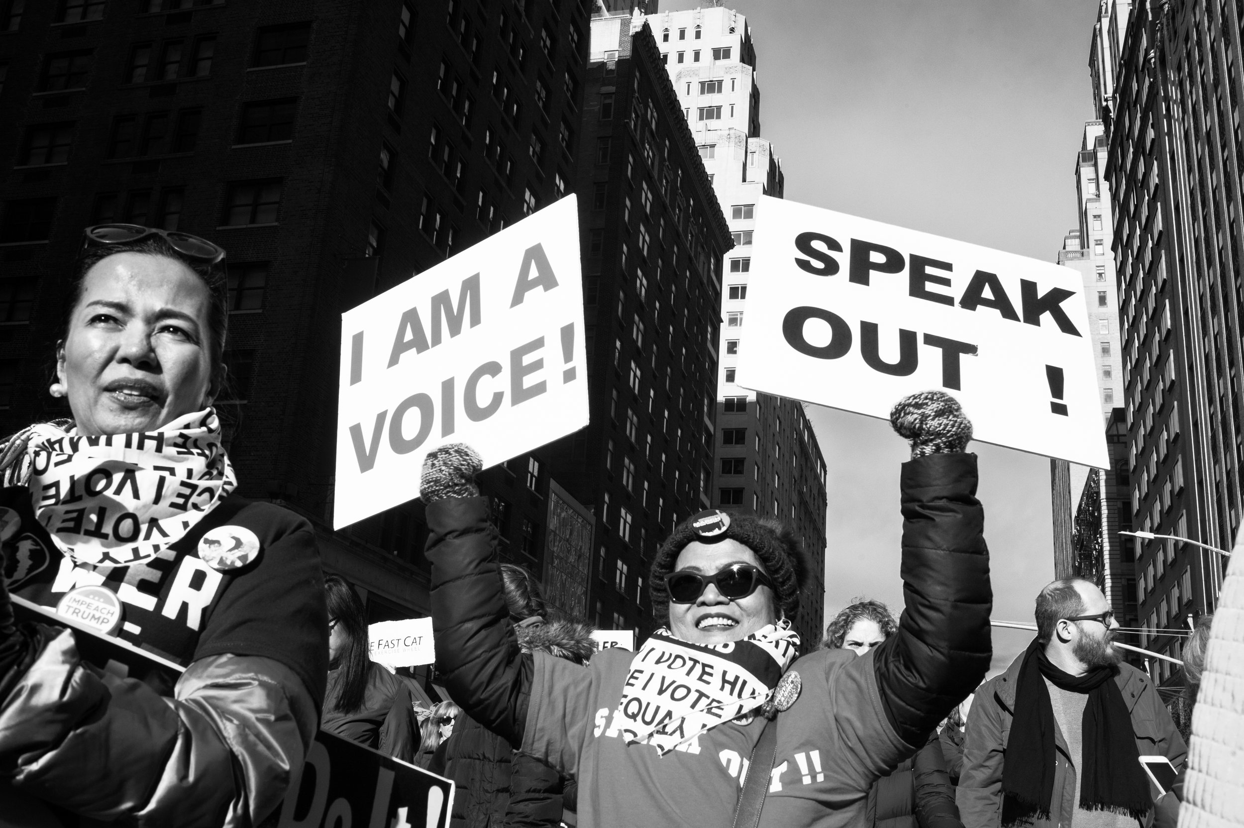 Speak Out!  I am a voice.