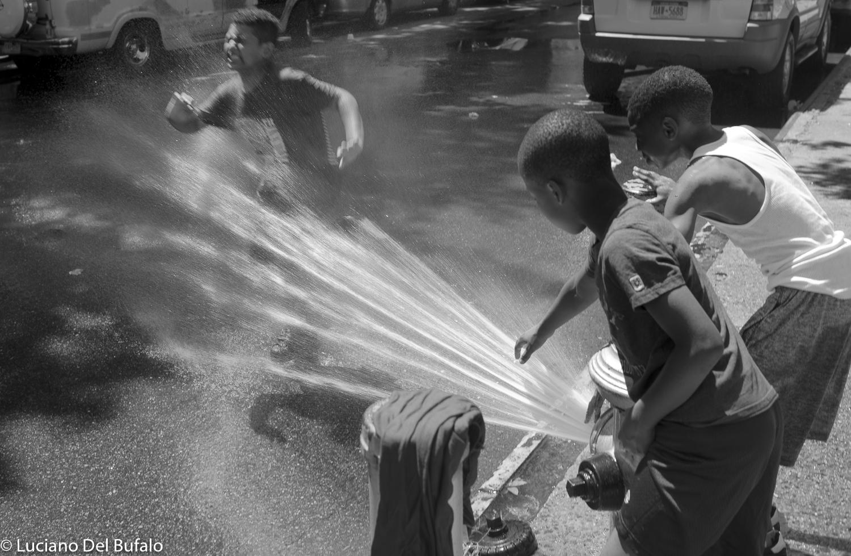 Children playing in Harlem