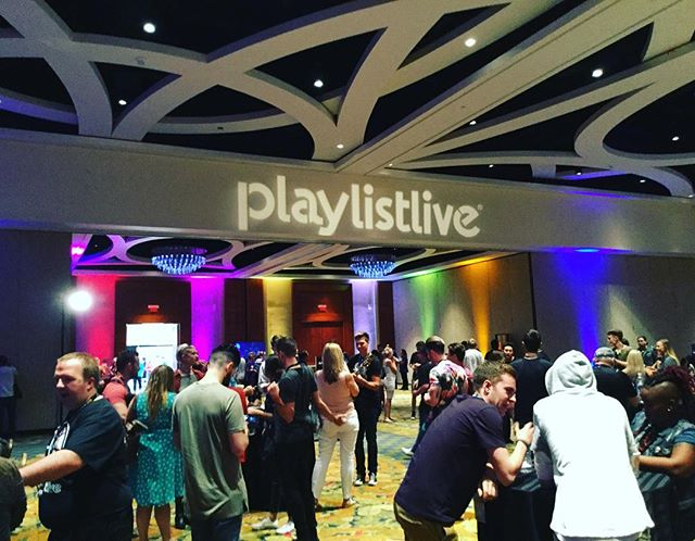 The team is here for #playlistlive! It's been a great weekend having a blast in Orlando. See you next year! #playlist #playlistliveorlando