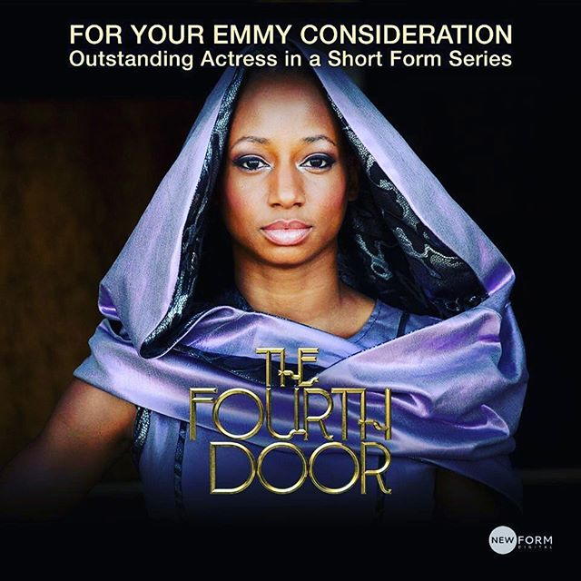 Proud to have Monique Coleman of #TheFourthDoor in consideration for an Emmy for Outstanding Actress in a short form series! #blackboxtv
