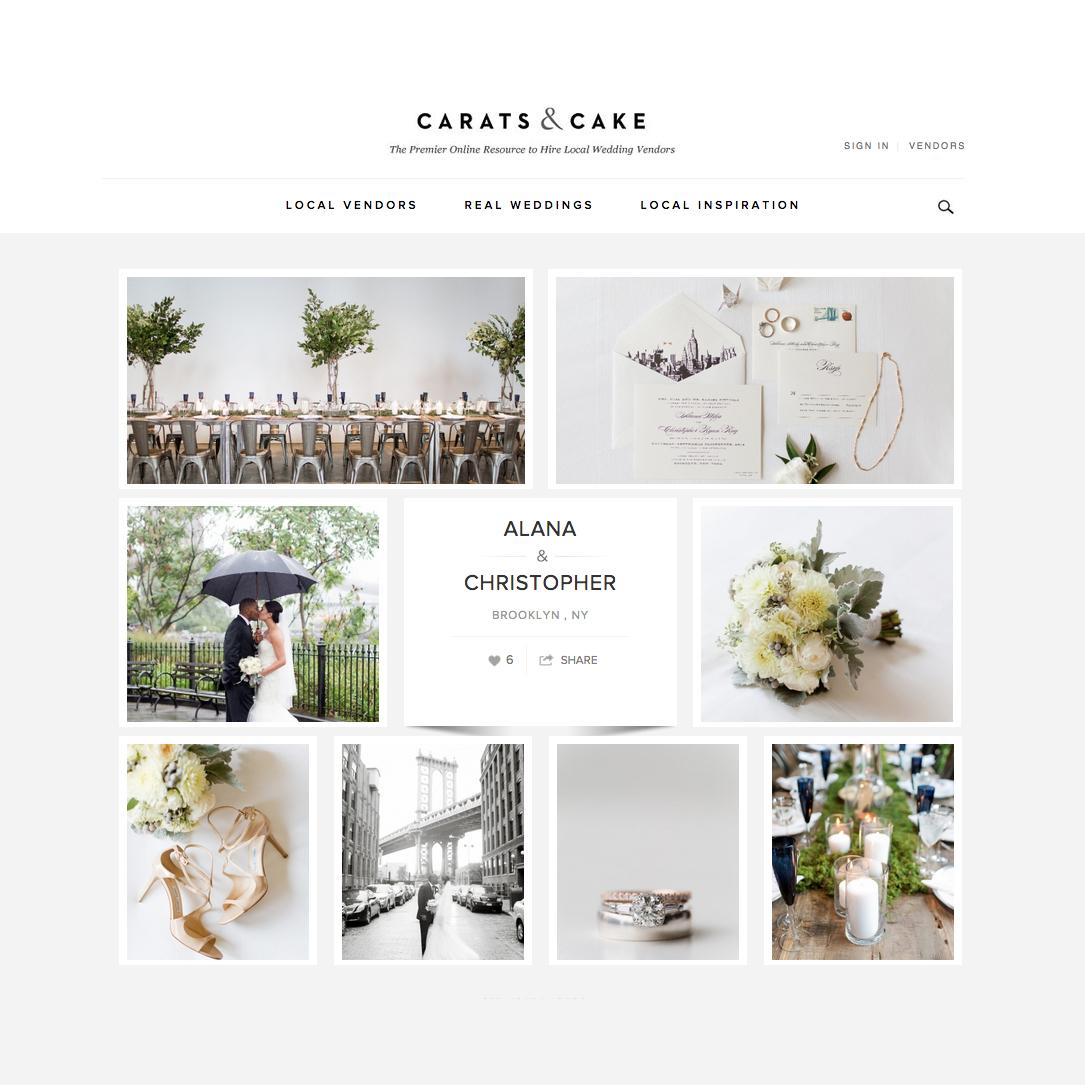 Carats & Cake Smack Mellon Gallery Wedding