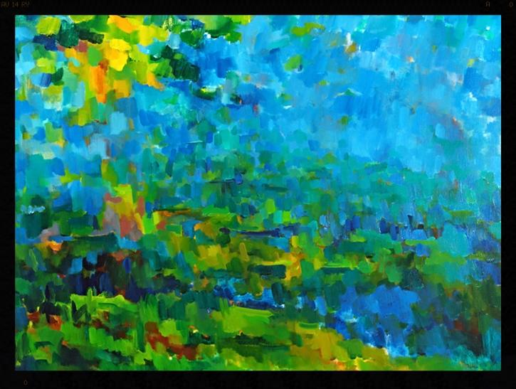 blue hill by Fred Staloff