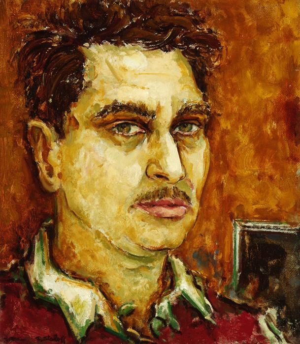 Self Portrait of Fred Staloff