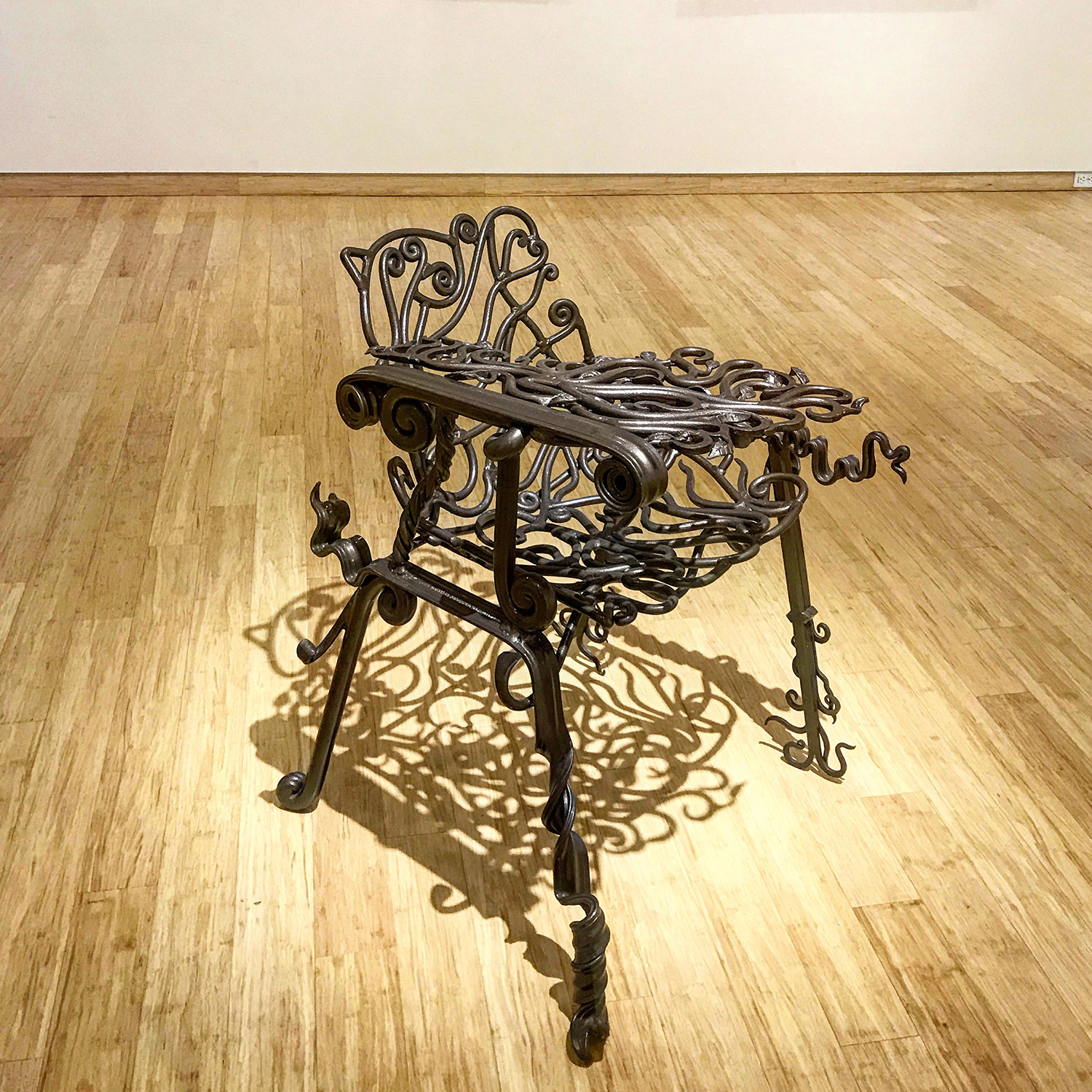 3. In Defense of Intellectual Luxury, cast iron, brass, Dylan Collins.jpg
