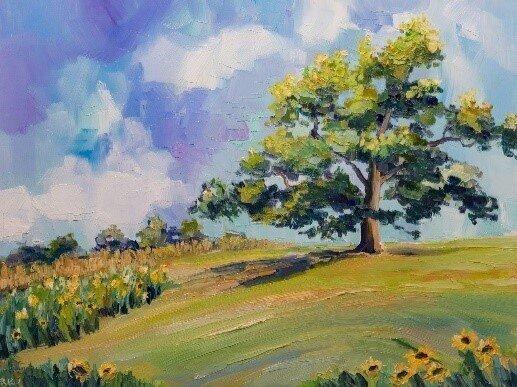 Paintings by Rhonda Peterson   October 20, 2020-January 7, 2021