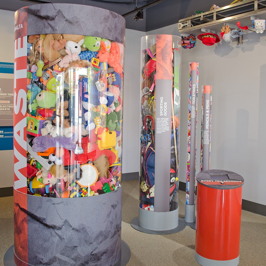 Waste tubes.