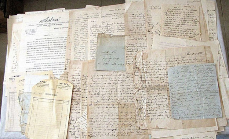 Screenshot_2019-09-13 Antique Large archive of letters of a jewish family Kleinman and Birnbaum Romania, Palestine 1930-194[...].png