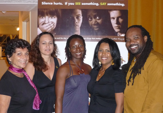 WMW IN THE CARIBBEAN REGION  WMW PERFORMED FOR THE LAUNCH OF THE GENDER BASED VIOLENCE CAMPAIGN IN CAYMAN